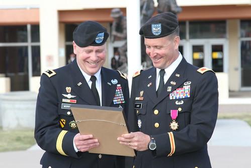 NETCOM IG Retirement Ceremony