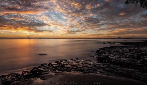 longexposure clouds sunrise rocks