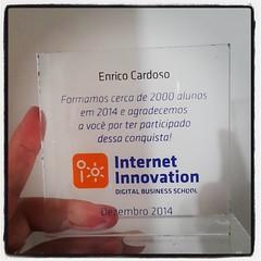 Muito feliz de ter sido lembrado pela Internet Innovation pelas conquistas de 2014. :blush: *************** #marketingdigital #marketingdeconteudo #content #conteúdo #gestãodeconteúdo #webwriting #storytelling #escritaweb #redação #redaçãoweb #internetmar