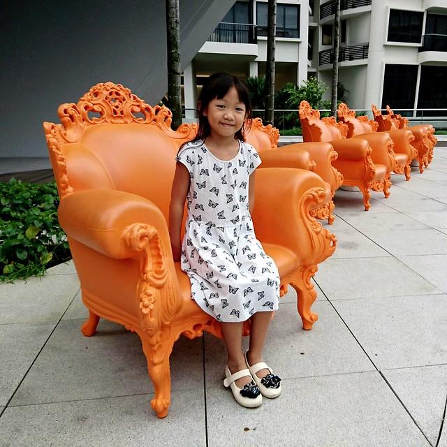 Orange plastic armchairs DSC_3115