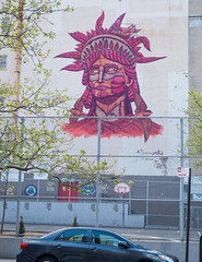 Lady Liberty Mural
