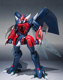 ROBOT魂 《聖戰士丹拜因》比亞瑞斯(紅色三騎士機)ビアレス(赤い三騎士機)