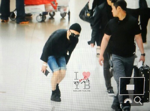 Big Bang - Incheon Airport - 29may2015 - Tae Yang - Urthesun - 04