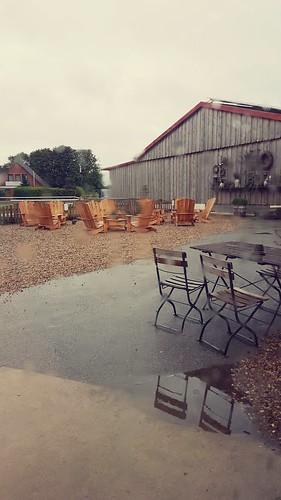 Regen über Büsum