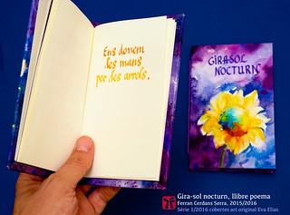 les mans per les arrels —del llibre de poemes curts en català Gira-sol nocturn