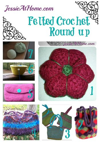 Wednesday Round Up Felted Crochet Jessie At Home