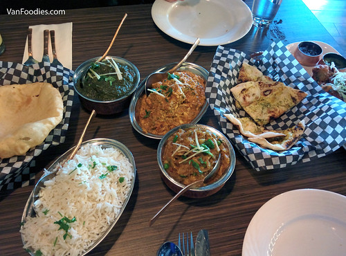 Lunch at Tasty Indian Bistro