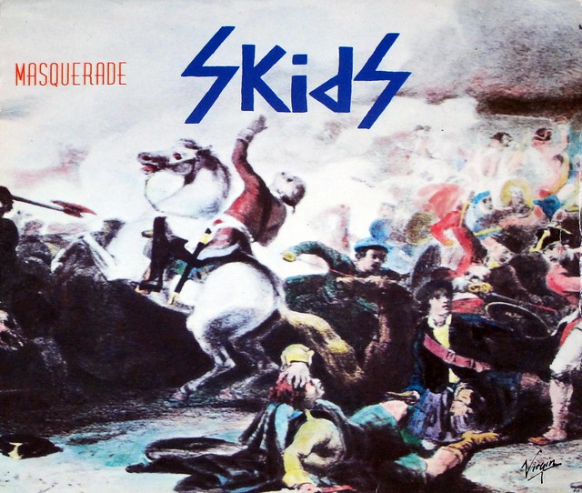 "SKIDS MASQUERADE / OUT OF TOWN 7"" 45RPM PS SINGLE VINYL"