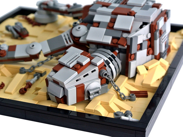 Wars MOC – Mount Tantiss: Cloning Chamber / Mount Tantiss: Camera di ...