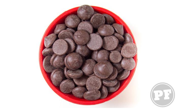 Gotas de Chocolate: Verdadeiras