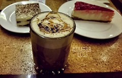 #Carmel #cappuccino #espresso #milk #coffee #Tiram…