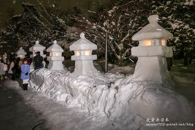20150214米澤雪燈籠-10米澤雪燈籠-1330230
