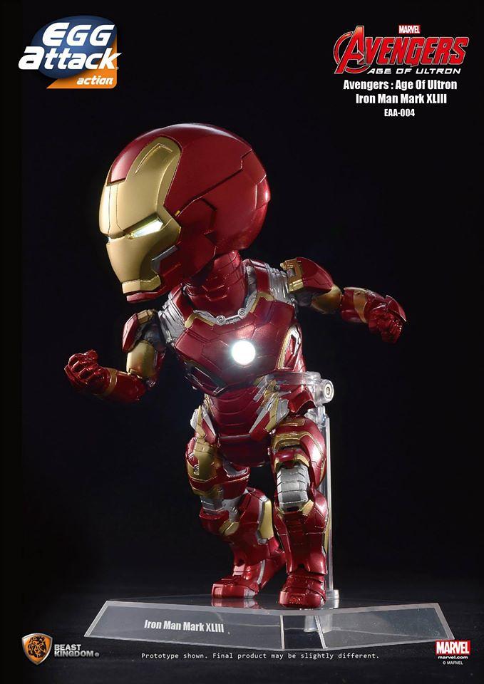 [Egg Attack] Action – Avengers: Age of Ultron Iron Man Mark 43 (EAA-004) 17143924029_0e6a0453f1_b
