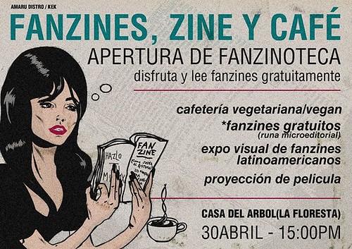 Fanzines Zine y Café | 30 de abril