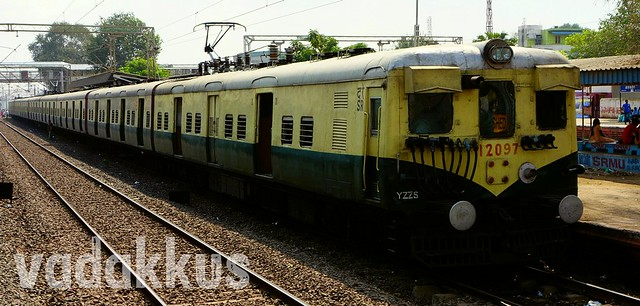 Chennai Local EMU Train
