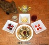 Seara (sea rabbit).  Photograph by Dr. Takeshi Yamada. 20120906 024. scrambled egg & mushroom spaghetti. strawberries. pear