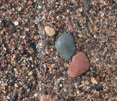 Stones at the Shore, Park Point, Duluth