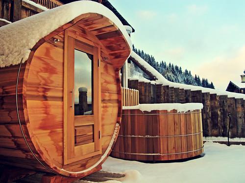 Storvatt - sauna