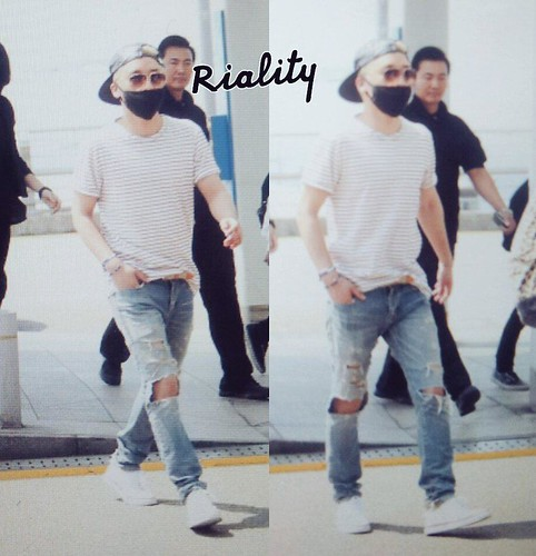 Big Bang - Incheon Airport - 29may2015 - Seung Ri - withriality - 01