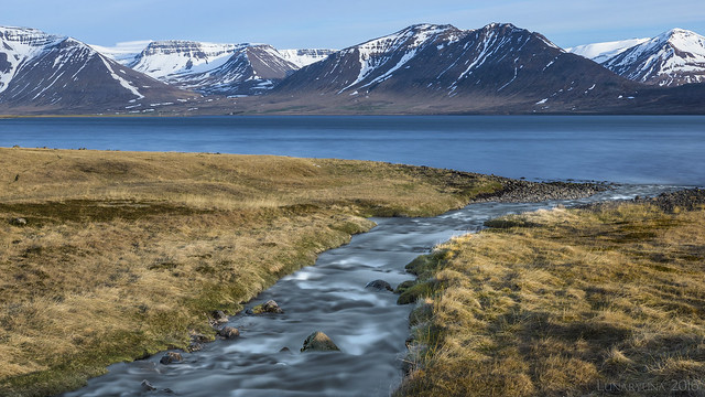 Iceland's rivers and fjords