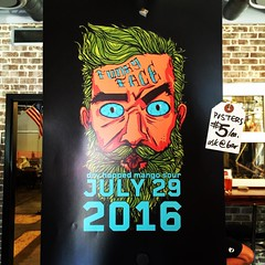 funky face dry hopped mango sour 07.29.2016 #oldoxbrewery @oldoxbrewery