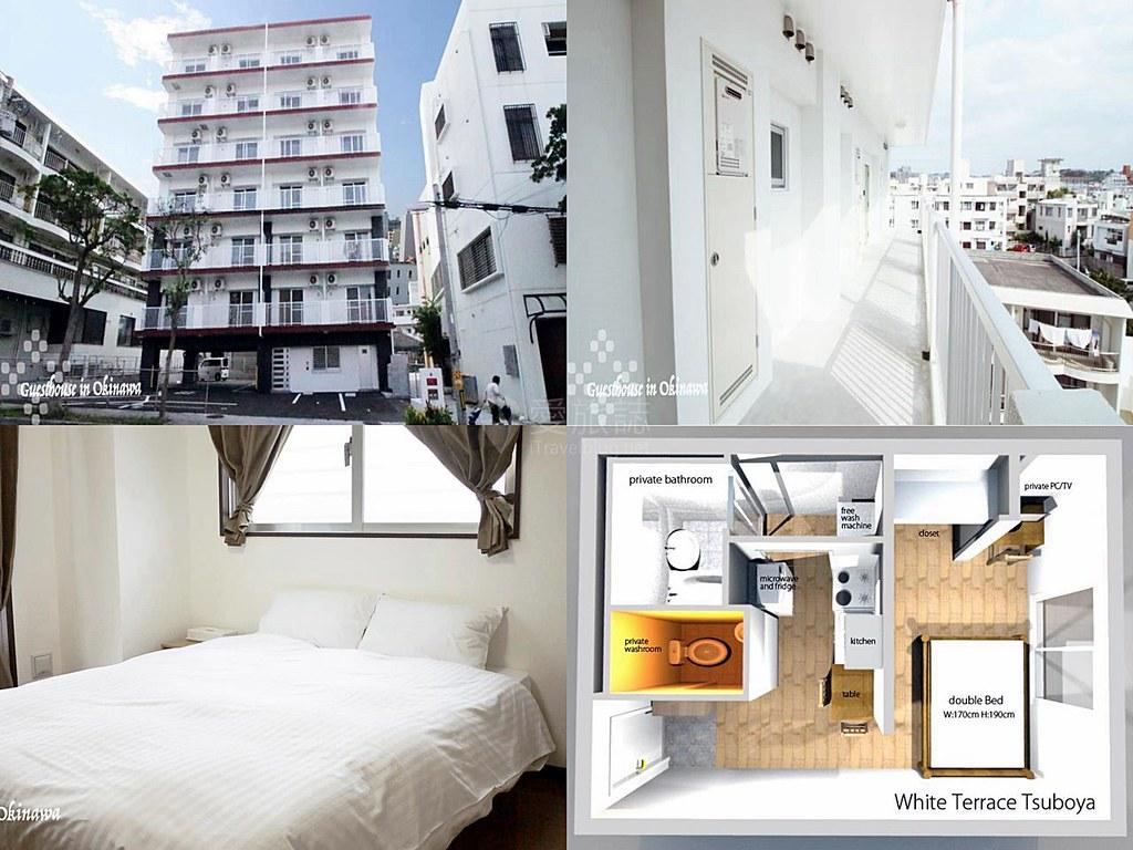 White Terrace Tsuboya -Guesthouse in Okinawa