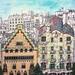Barcelona Rooftops #03 by Er tío'e la cafetera