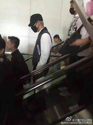 BIGBANG GDTOPDAE arrival Hangzhou 2015-08-25 131