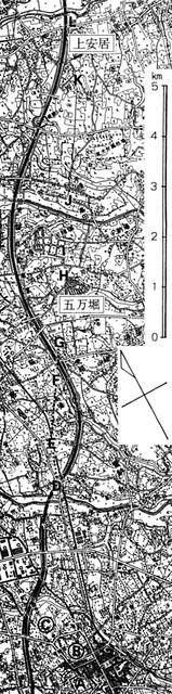 五万堀地名の残る場所_木下良_2013年『日本古代道路の復元的研究』