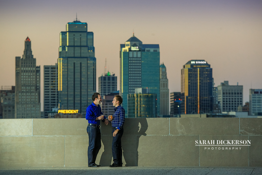Kansas City engagement photography