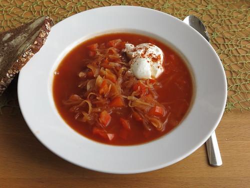 Ungarische Krautsuppe