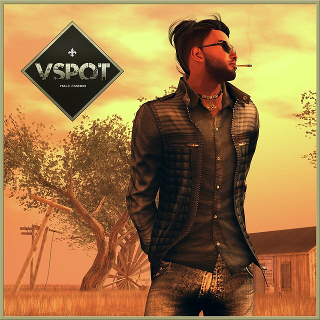 V-Spot's SoCool Leather Jacket @ MOM