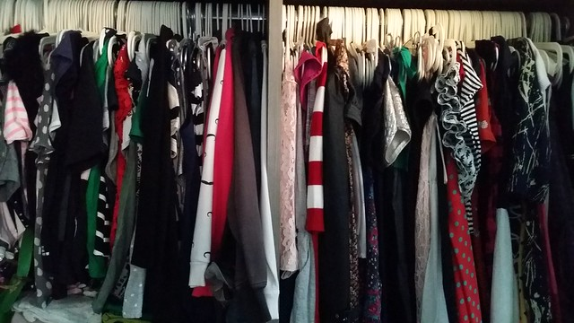 My wardrobe isn't as colourful as I thought it to be.