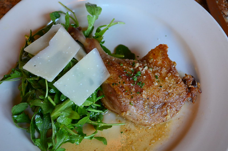 Duck Confit and Arugula