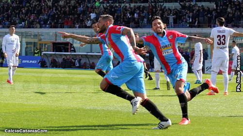"""Catania-Trapani 4-1: Derby """"ossigenante""""$"""