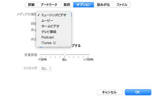 iTunes ミュージック iPhone ビデオ