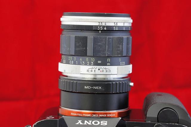 α7_MINOLTA MACRO ROKKOR-QF 50mm F3.5 3