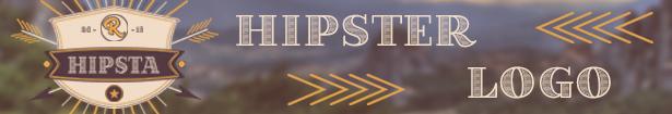 Hipster Logo Opener