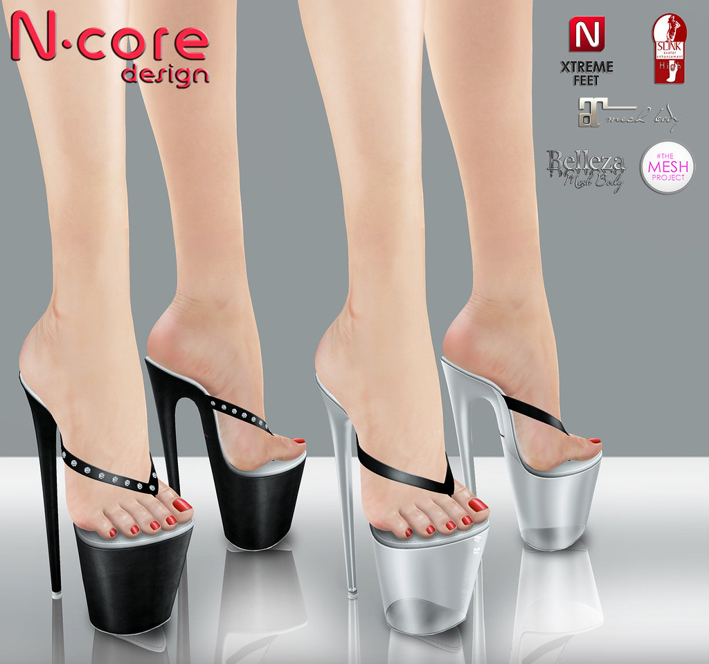 c2503e5eaf2714 N-core news! High heel platform THONG sandals- COMING SATU…
