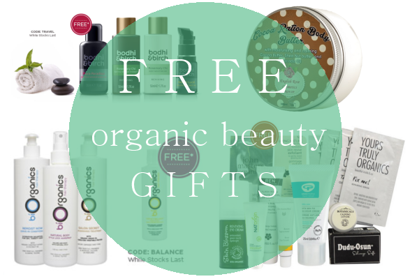 Weekly Discounts and Free Organic Beauty Gifts #18