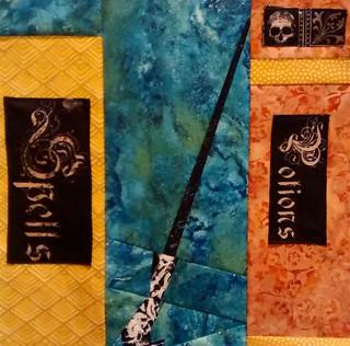 2nd quilt block 14