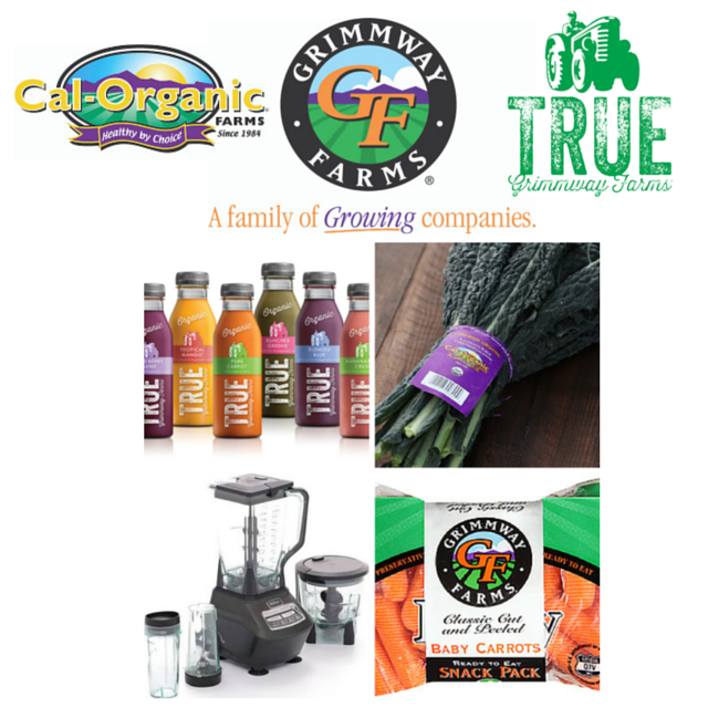 Collage Grimmway Cal-Organic True Juice