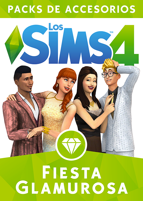 Los Sims 4 Fiesta Glamurosa *Pack de Accesorios 17839608446_46c26cb1e2_o