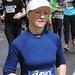 Woman marathon runner