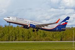 Boeing 737 VQ-BVP Aeroflot by The best from aviation