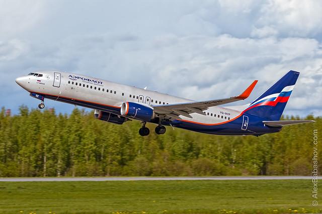 Boeing 737 VQ-BVP Aeroflot