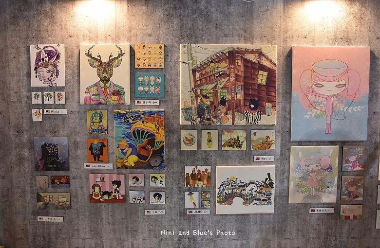 台中後火車站舊酒廠王畫創意園區2016插畫展11