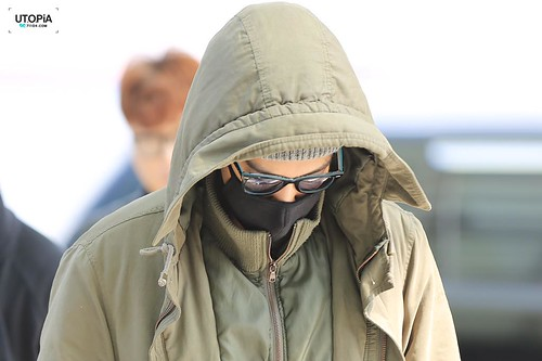 Big Bang - Incheon Airport - 01apr2015 - TOP - Utopia - 04