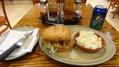Chicken Burger and Coleslaw, Nando's, Pretori…
