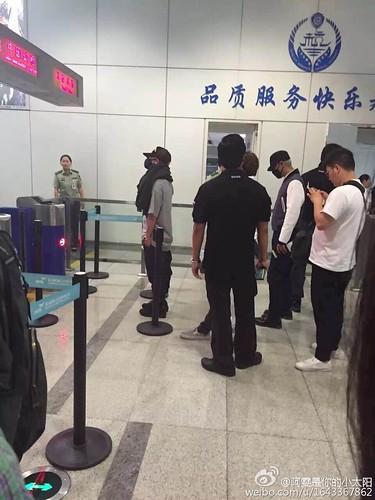 BIGBANG GDTOPDAE arrival Hangzhou 2015-08-25 113
